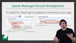 Regular breakpoints, symbolic breakpoints, sound breakpoints - oh my!