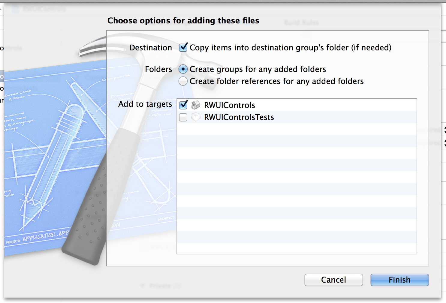 How to create a framework for ios ray wenderlich iosframeworkimportsettingsforrwknobcontrol ccuart Image collections