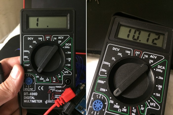 Pot To Multimeter