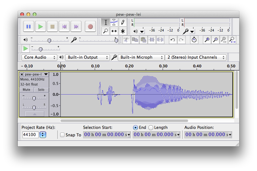 Audio Tutorial for iOS: Converting and Recording [2014
