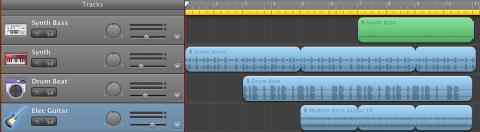 Garage Band Screenshot