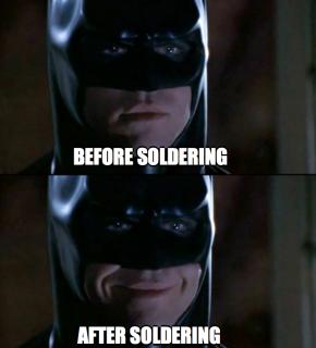 Soldering Meme