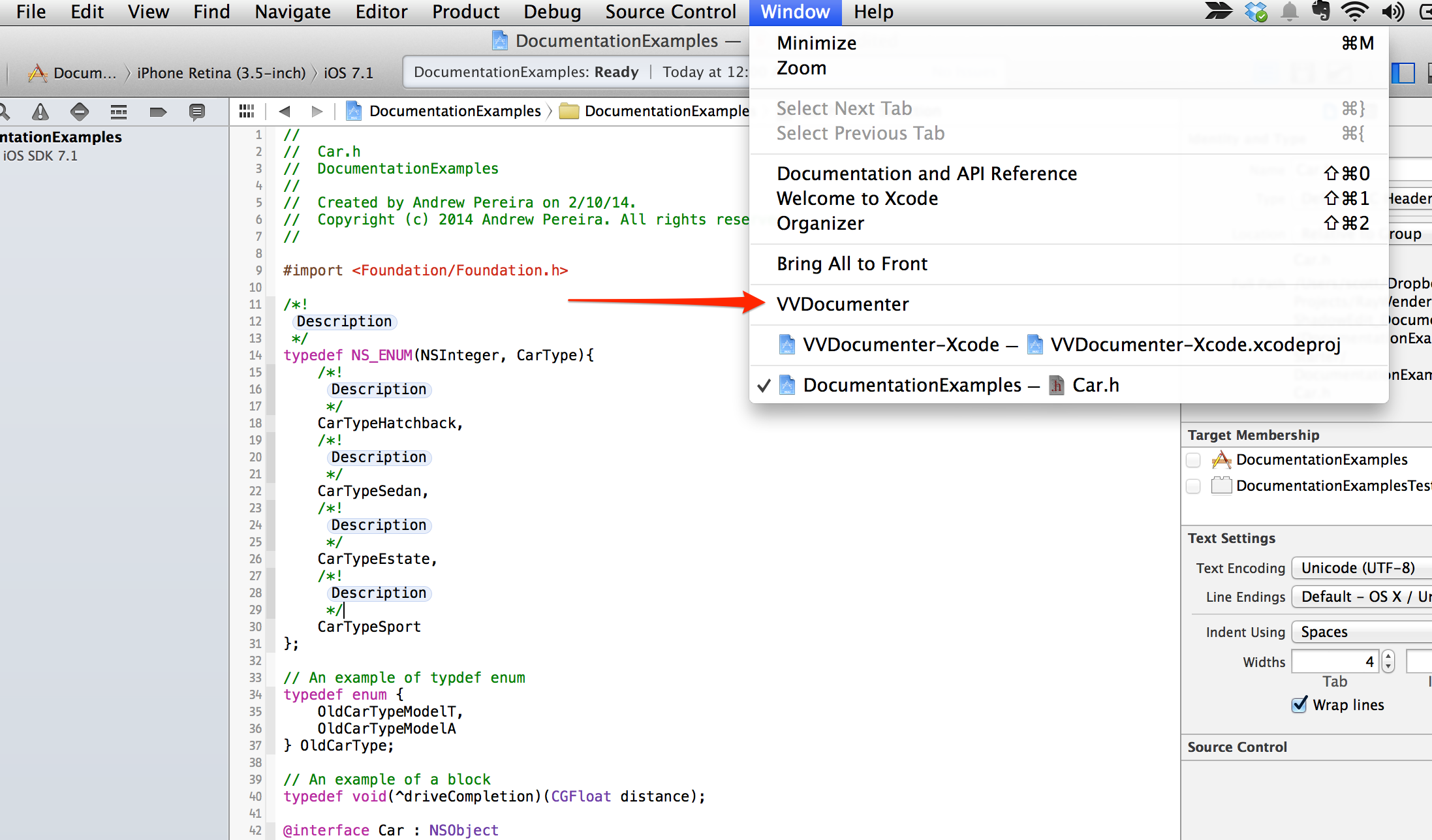 Documenting In Xcode With Headerdoc Tutorial Raywenderlich Com