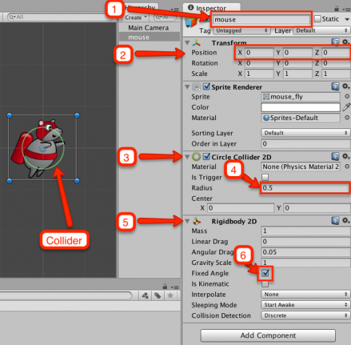 rocket_mouse_unity_15_mouse_inspector_settings