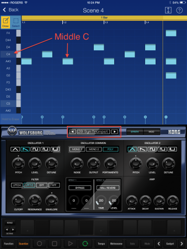 Track 3 pattern
