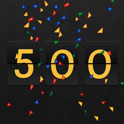 Our 500th Tutorial - Time to Celebrate!