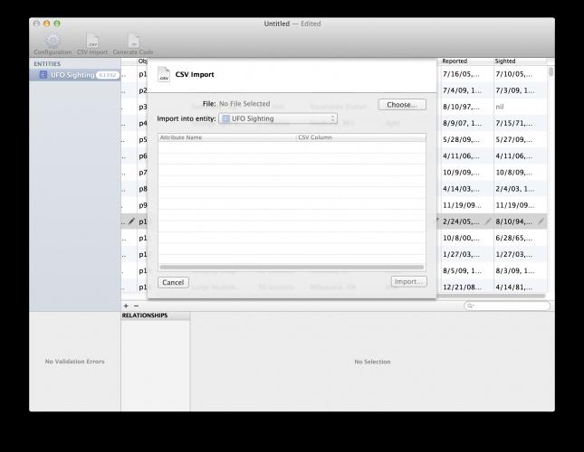 Core Data Editor