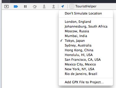 Xcode locations