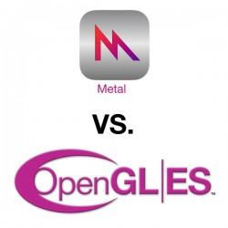 3 Metal vs opengles
