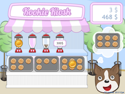 Kookie Kiosk is one sweet waiting game.