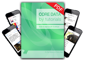 Core Data by Tutorials now available!