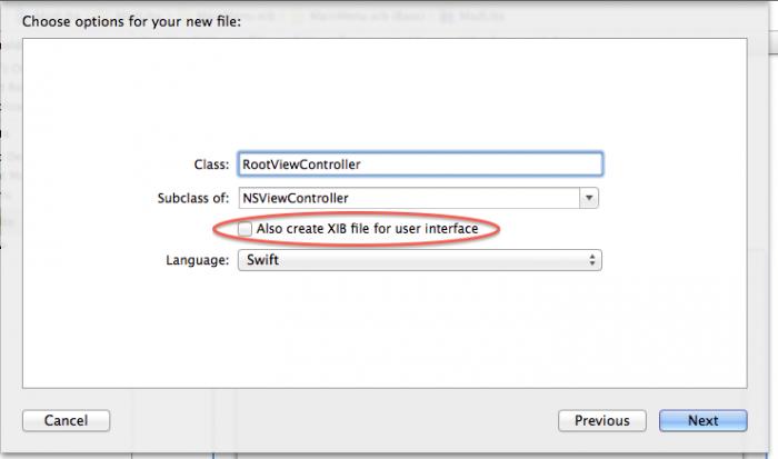 Create rootViewcontroller