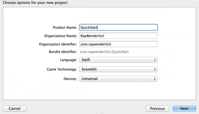 QuickStartOptions