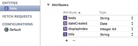 Modeling tool in Xcode