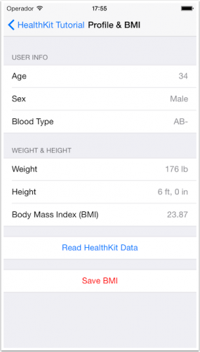 Read Samples and BMI