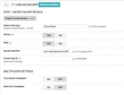 Linking an iOS App