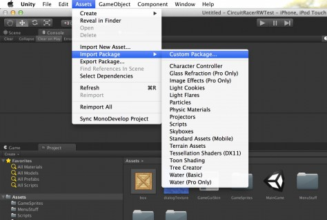 Importing a custom package