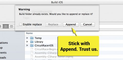 Use Append Here