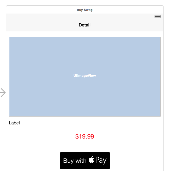 Scene with Apple Pay Button