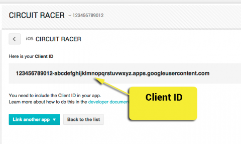Your Client ID