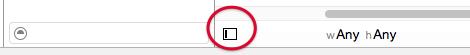 document outline button