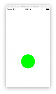 sim button green