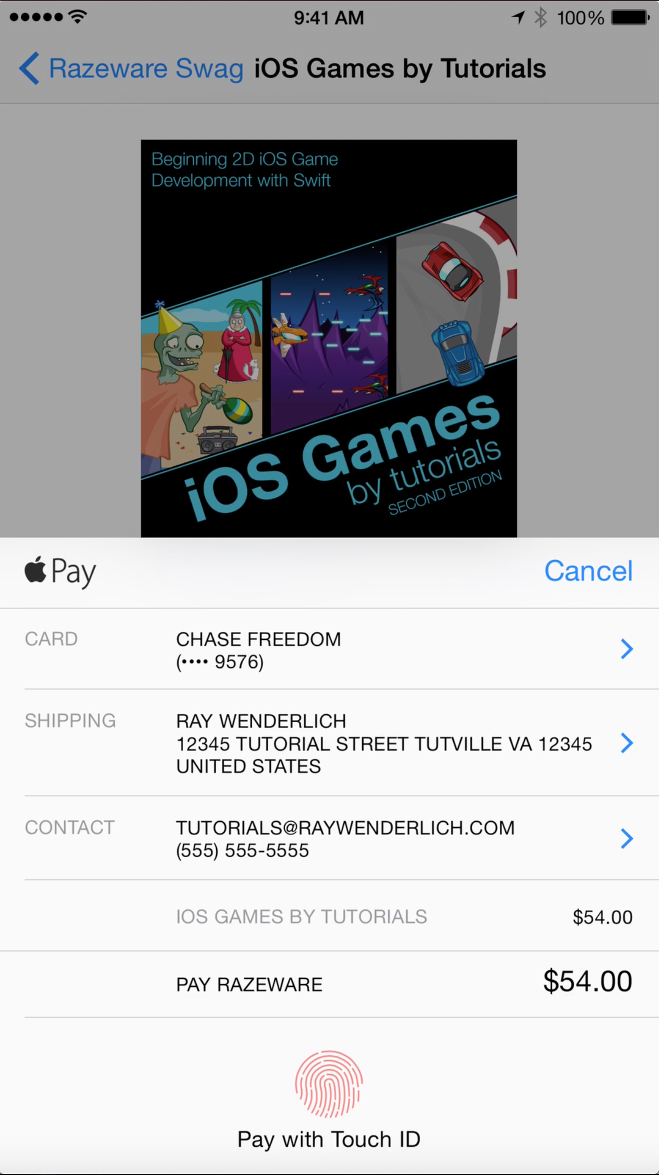 Apple Pay Tutorial: Getting Started | raywenderlich com