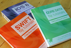 The print versions of our 3 new Swift books are now available!