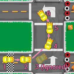 Prepare for the final lap where you will learn how to handle drivers sending mixed signals!