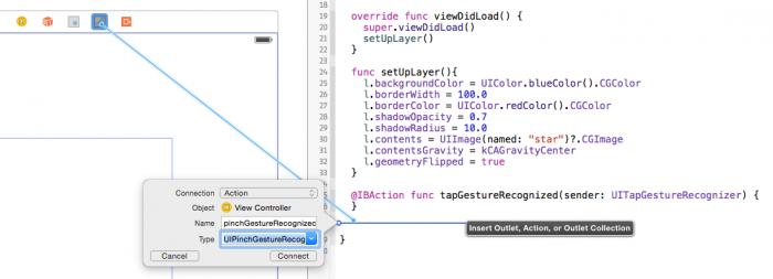 Xcode-CreateAction