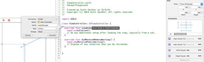 Xcode-CreateOutlet