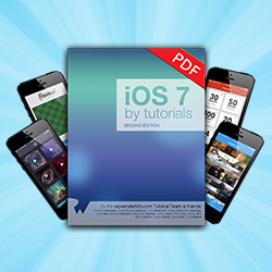 iOS 7 by Tutorials fully updated for iOS 8, Xcode 6, and Swift!