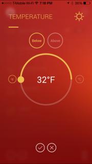 TemperatureAlarms