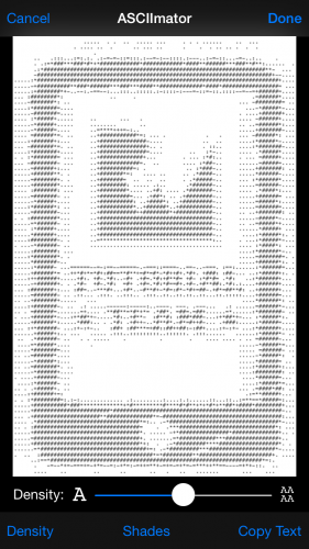 ASCIImator