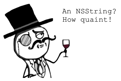NSString quaint