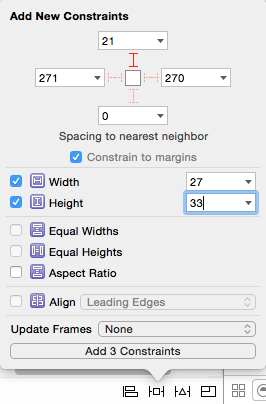 set width and height