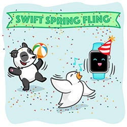 Thank you for being a part of the Spring Swift Fling!