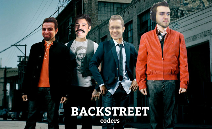 The Backstreet Coders!
