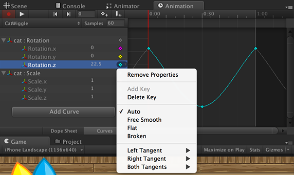 curves_menu