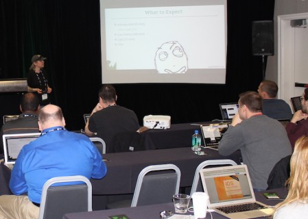 Tammy Coron tutorial at RWDevCon