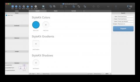 PaintCode StyleKit