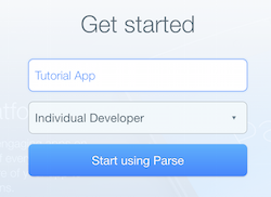 Parse Tutorial: Getting Started with Web Backends