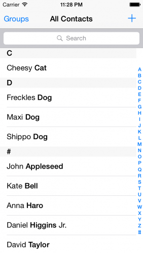 PetBook-AllContacts