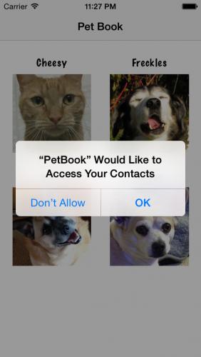 PetBook-ContactPermissions