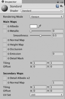 Unity 5's Standard Shader