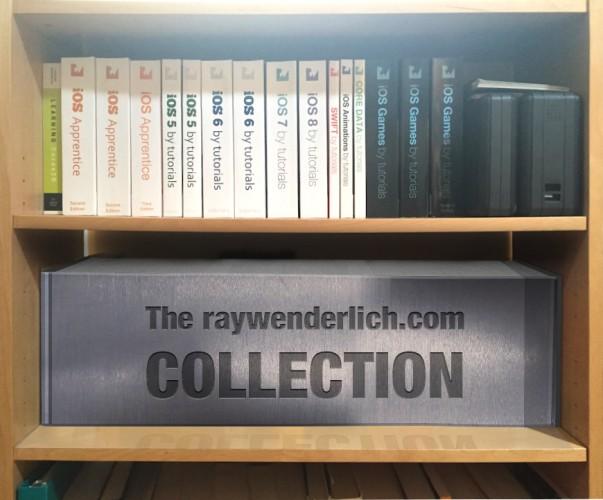 You may need a bigger bookcase.