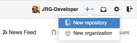 Github: New Repository