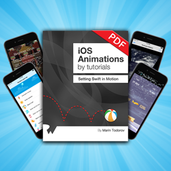 3 New Bonus Chapters for iOS Animations by Tutorials Now Available!