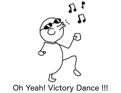 Victory Dance!