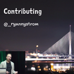 RWDevCon Inspiration Talk – Contributing by Ryan Nystrom
